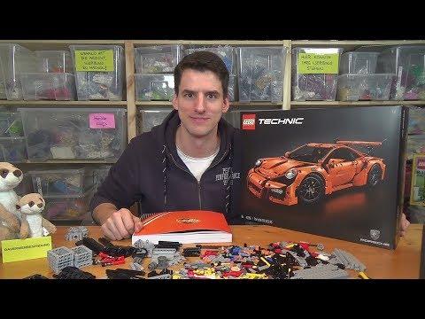 LEGO® Technic 42056 - Porsche 911 GT3 RS - Unboxing & Baubeginn