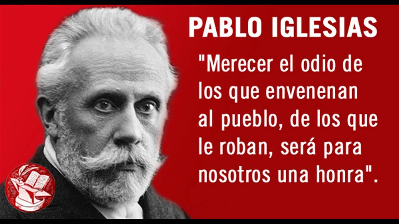 Resultado de imagen de PABLO IGLESIAS POSSE MERECER EL ODIO