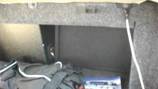2001 Mustang with two jbl 12 inch subs