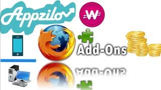 Встановити Доповнення Firefox Завдань - AppZilo | Заробити/Платний Миттєво [WowApp]