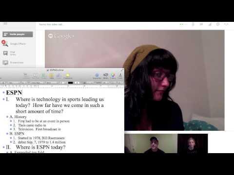 Industry Presentation Practice Hangout
