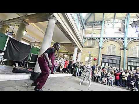 Street Acrobats at North Hall Covent Garden London