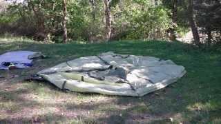 Как установить палатку(Правильно установить и собрать палатку на природе, в лесу, видео. Правильно собрать палатку поможет умение..., 2013-09-12T06:33:07.000Z)