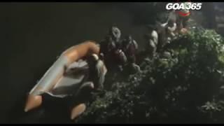 Unused foot bridge in Sanvordem collapses in Zuari river, many missing