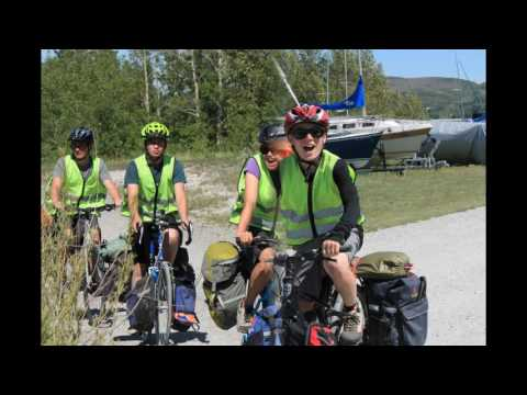 Alberta- Quebec Exchange Bike Trip 2016- Welcome to Alberta!