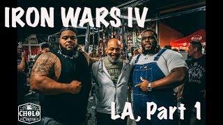 Iron Wars 4 Feat CT Fletcher Julius Maddox TD Smash Da Hulk Simeon Panda Strength Cartel