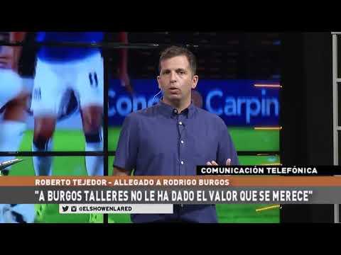 Roberto Tejedor - Allegado de Rodrigo Burgos