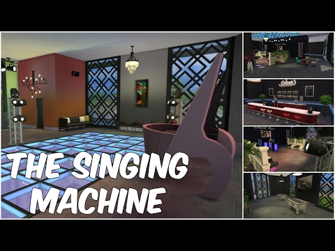 The Singing Machine - Karaoke/Nightclub | The Sims 4 Speed Build