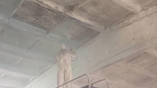 Побелка потолка после Пожара(, 2015-09-27T21:40:26.000Z)