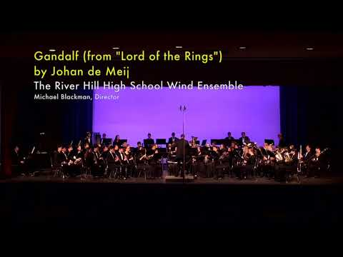 River Hill High School Wind Ensemble at 2019 Howard County High School Band Assessment