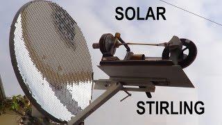MOTOR STIRLING SOLAR ENERGY