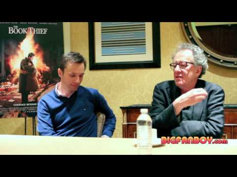 THE BOOK THIEF interview with Markus Zusak, Geoffrey Rush, Sophie Nélisse and Brian Percival