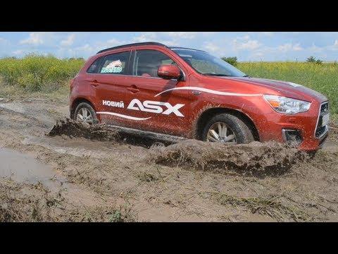 Тест драйв от Коляныча #11 Mitsubishi ASX 4x4 OFFROAD Test (Митсубиси АСХ)