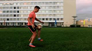 Футбольный фристайл. Видео урок по Crossover / Football freestyle . Video lesson on Crossover