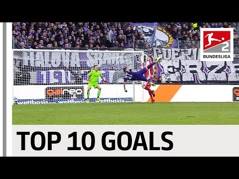 Bicycle Kicks, Long-Range Stunners & More  - Top 10 Bundesliga 2 Goals 2018/19