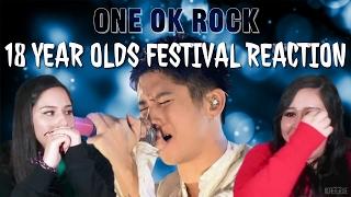 Hello, everyone! Kenya & Alexandra react to ONE OK ROCK's video of ...