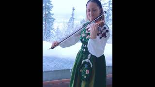 Scandinavian violinist - plays Ole Bull