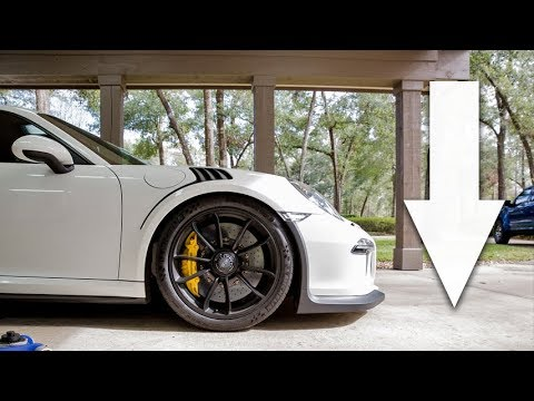 Lowering the GT3 RS