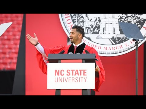 2021 Spring Commencement | Keynote Address, Russell Wilson