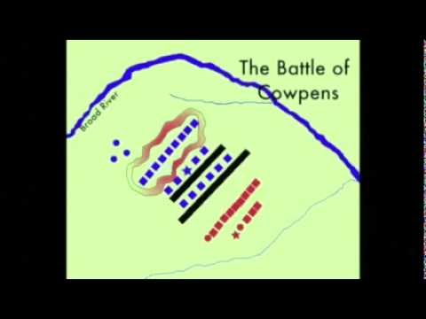 The Battle of Cowpens Animation