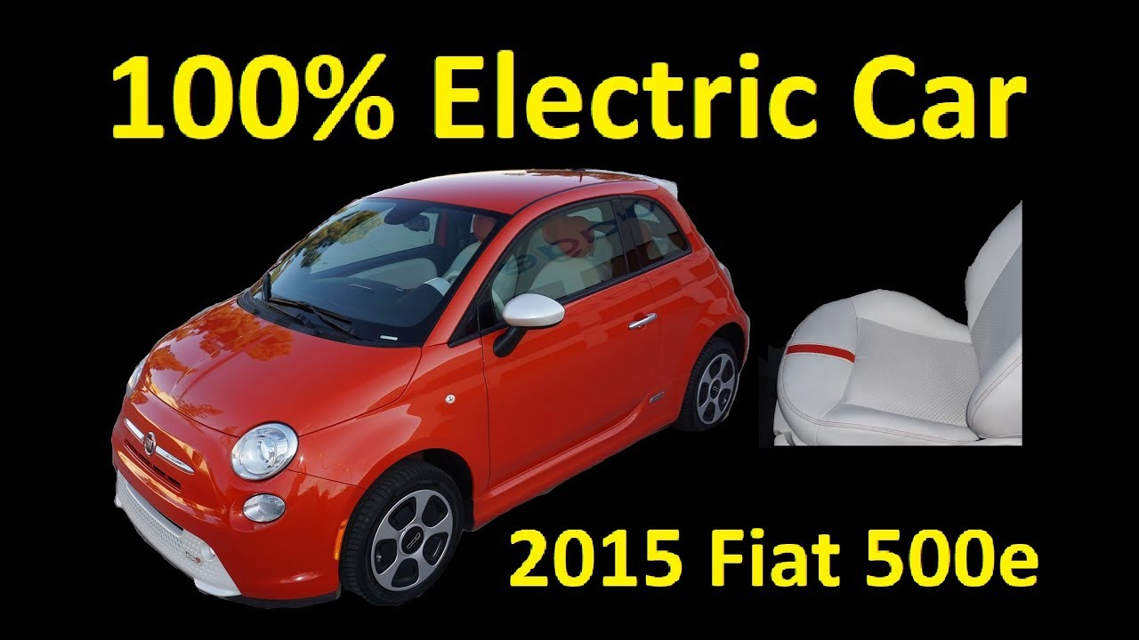 buy a electric car 2015 fiat 500e sporty non hybrid elec. Black Bedroom Furniture Sets. Home Design Ideas