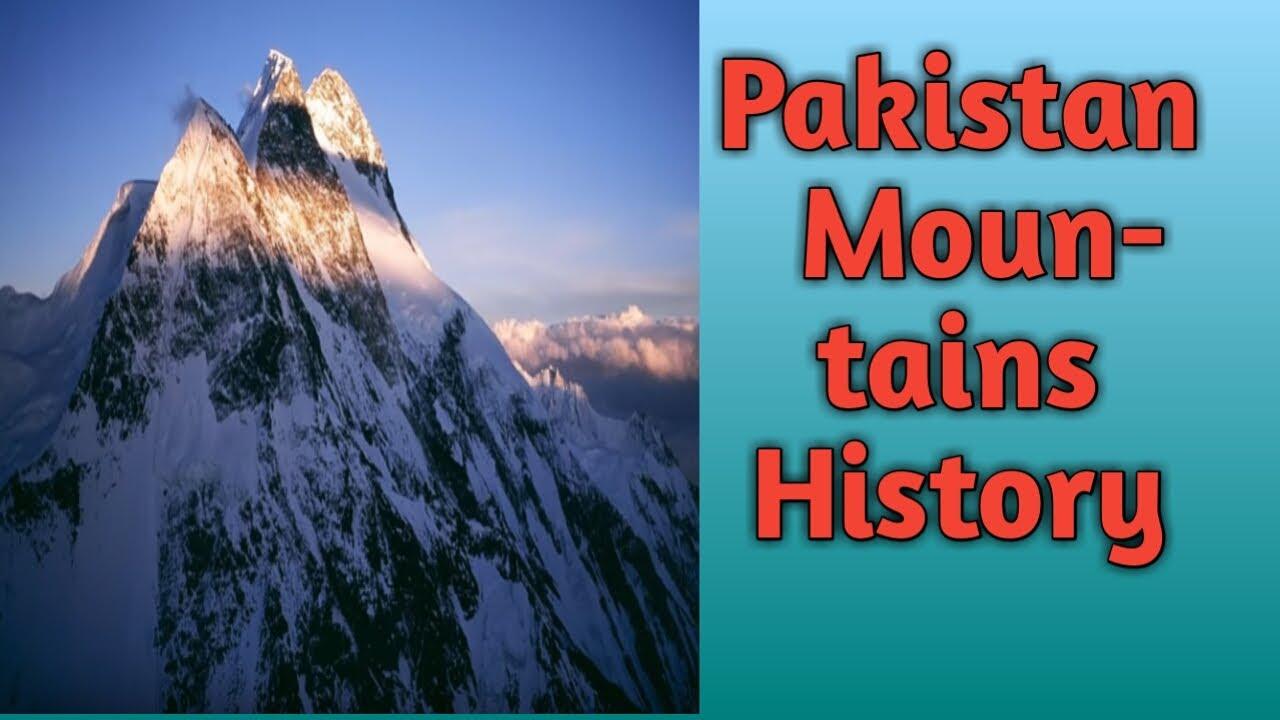 pakistan mountains history.