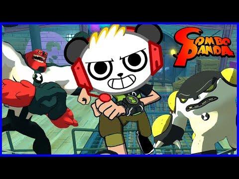 Ben 10 ALIEN HEROES Let's Play with Combo Panda