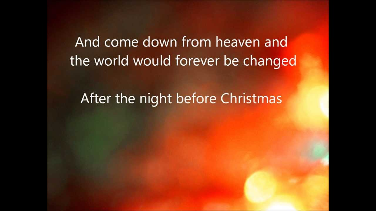 Steven Curtis Chapman - The Night Before Christmas - YouTube