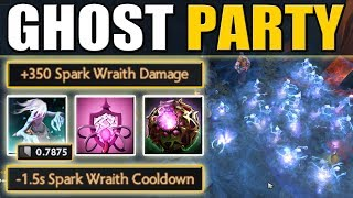 0.78 sec Cooldown Spark Wraith with Bad Juju [Ghost Party] Dota 2 Ability Draft