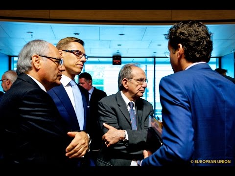 ECOFIN Council - Eurogroup - ESM Board of Governors meetings - Luxembourg June 2015