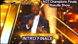 INTRO| America's Got Talent Champions Finale Results AGT