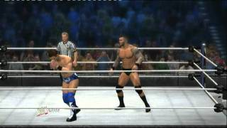 wwe 12 Randy Orton vs The Miz Gameplay ps3