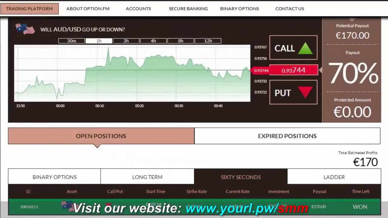 Millionaire binary options traders