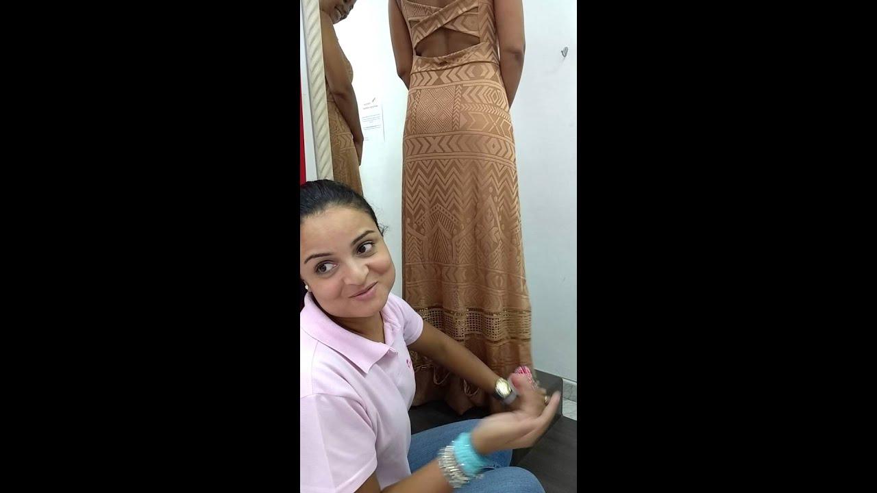Como medir barra de vestido longo