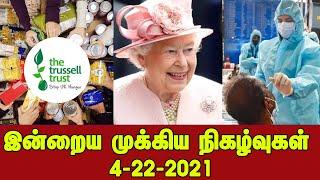 இன்றைய முக்கிய நிகழ்வுகள் – 4/22/2021 – Britain News
