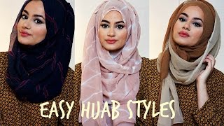 Hijab Tutorial For Easy Hijab Styles! | Hijab Hills