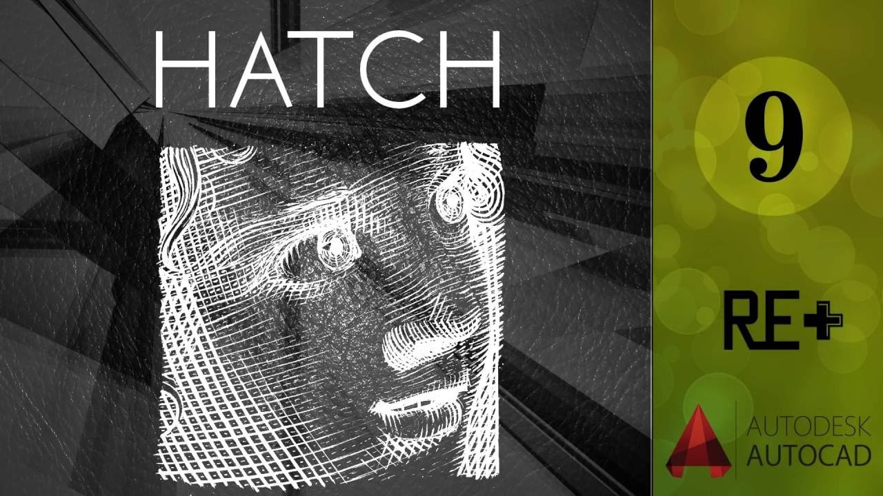 Hatch    AutoCad for Architects [ Arabic ]