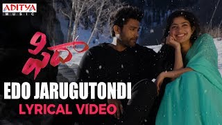 Edo Jarugutondi Full Song With Lyrics | Fidaa Songs | Varun Tej, Sai Pallavi | Sekhar Kammula