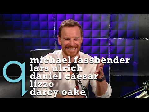 q with Tom Power - Ep 5 | Michael Fassbender, Lars Ulrich, Darcy Oake, Lizzo, and Daniel Caesar
