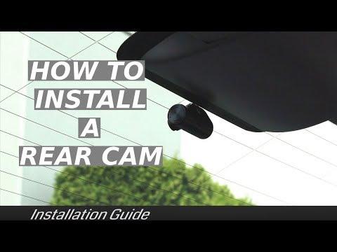 How To Install A Rear Dash Cam
