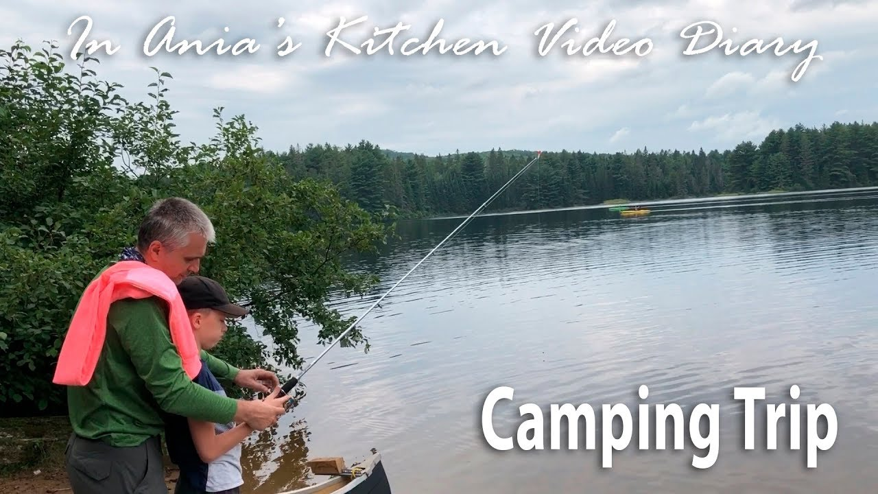 Ania\'s Video Diary - Camping Trip - Daily Vlog - YouTube