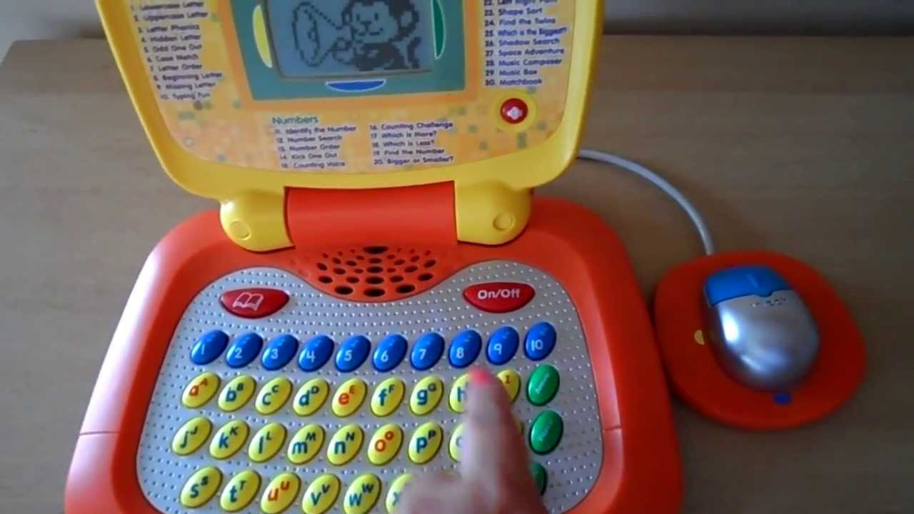 Worlds Best Vtech Toy Laptop Learn Letters Phonics Maths And English