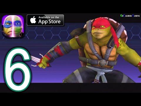 Teenage Mutant Ninja Turtles Legends IOS Walkthrough - Part 6 - Chapter 3: A Foot In Both Clans