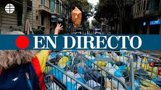 Convocatoria para tirar basura contra el Gobierno, en directo
