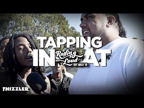 Tapping in at Rolling Loud 2018 || Allblack, Mozzy, Saweetie, Lil Pete, Kamaiyah, BOE Sosa, Berner