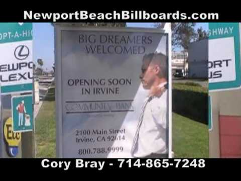 Best Billboard in Newport Beach, California