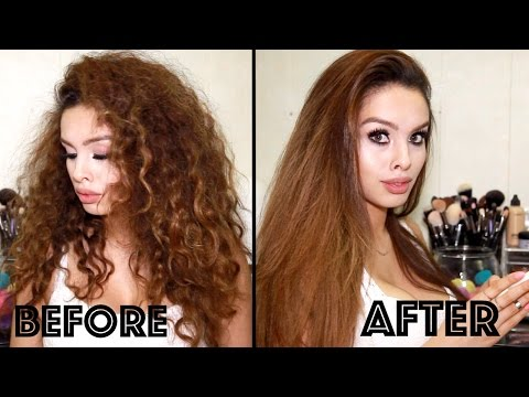 Straighten Afro Hair Naturally No Heat