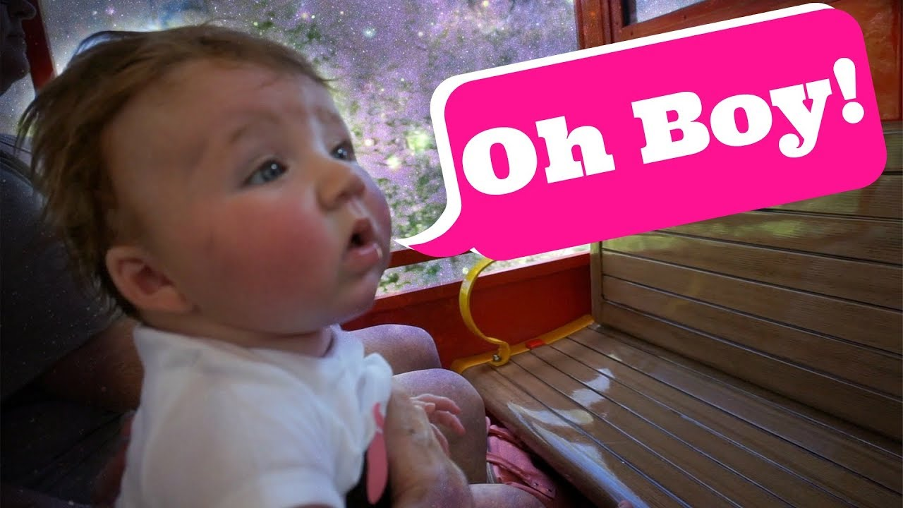 BABY RIDES THROUGH MAGIC KINGDOM - YouTube