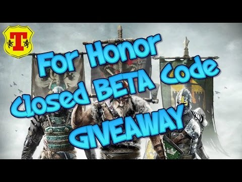 For Honor Beta code GIVEAWAY PS4