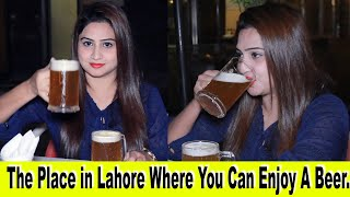 Would You Like To Have Some Beer With Me ? | Dragon Beer in Lahore | Sana Amjad